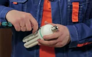 Как сделать розетку из светодиодной лампочки