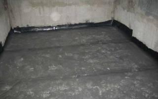 Гидроизоляция плиты по грунту
