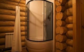 Гидроизоляция душевой в деревянном доме