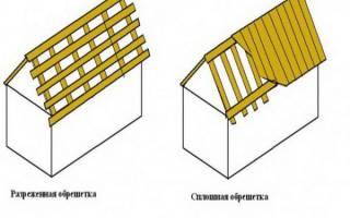 Как сделать обрешетку под профнастил на крышу?