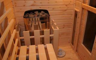 Как построить сауну в квартире своими руками?