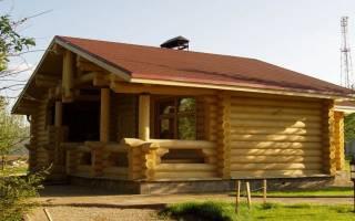 Как построить баню из дерева?
