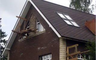 Как построить крышу двухскатную с мансардой?