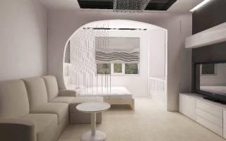 Современный дизайн маленькой однокомнатной квартиры на 18 кв м