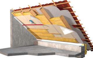 Как утеплить крышу из металлочерепицы изнутри?