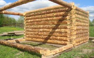 Как построить дом из рубленного бревна?