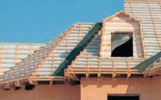 Контр обрешетка на крышу под металлочерепицу