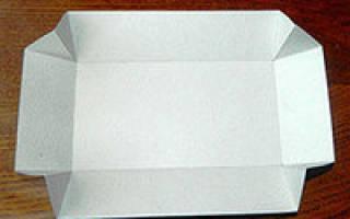 Ручной инструмент для создания коробок из картона