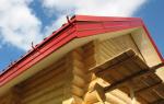 Устройство карниза крыши из металлочерепицы
