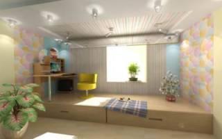 Как построить подиум в комнате?