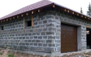 Из каких блоков построить гараж?