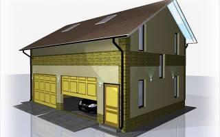 Как построить двухэтажный гараж?