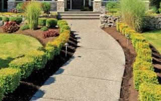 Как сделать дорожки в саду самостоятельно