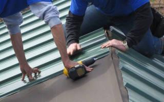 Правила крепления профнастила на крыше