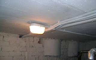 Светильник для подвала герметичный