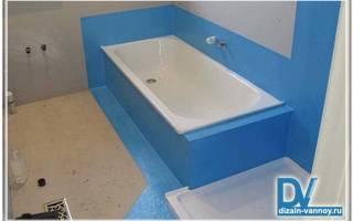 Битумная мастика для гидроизоляции ванной комнаты