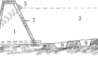 Как построить дамбу для пруда?