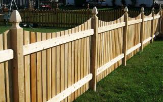 Как построить забор из штакетника своими руками?