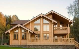 Как построить дом из бруса и кирпича?