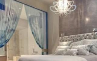 Освещение в спальне в современном дизайне с фото