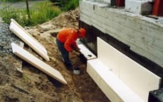 Гидроизоляция и утепление фундамента жилого частного дома