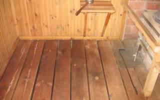 Гидроизоляция для бани с деревянными полами