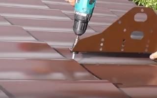 Сколько шурупов на лист профнастила на крышу?