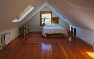 Как построить комнату на чердаке своими руками?
