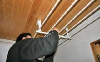 Как сделать сушилку для белья на балконе