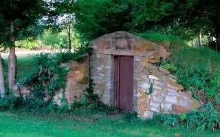 Как построить наземный погреб?