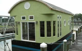 Как построить плавучий дом?