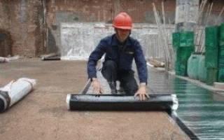 Рубероид как гидроизоляция фундамента?