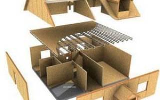 Как построить дом из ОСБ своими руками?