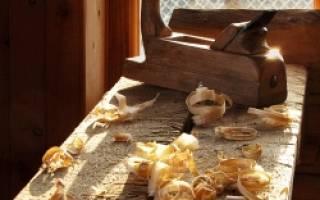 Как заточить рубанок в домашних условиях?