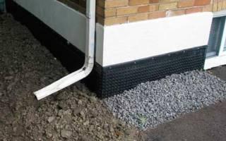 Наружная гидроизоляция стен подвала