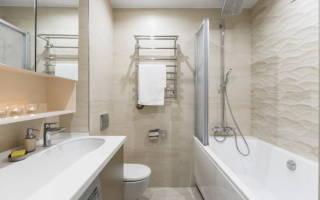 Плитка для маленькой ванной комнаты: фото современного дизайна