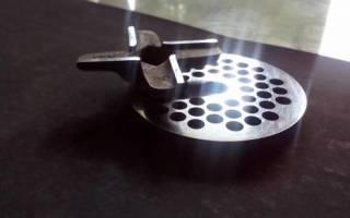 Как заточить четырехлопастной нож ручной мясорубки