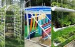 Переносной летний душ из полипропиленовых труб