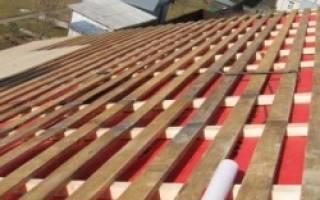 Подготовка крыши под мягкую черепицу