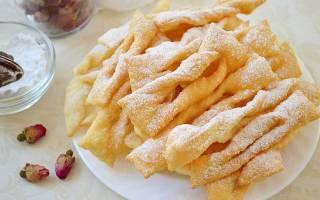 Рецепт вкусного хвороста