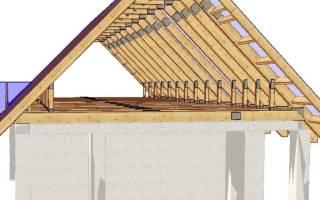 Как построить крышу двухскатную своими руками пошагово?