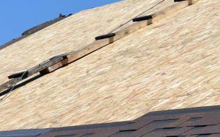 Обрешетка крыши под мягкую черепицу