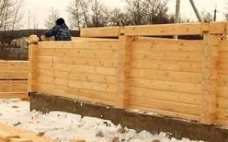 Как построить баню из профилированного бруса?