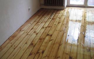 Чем шлифовать деревянный пол?