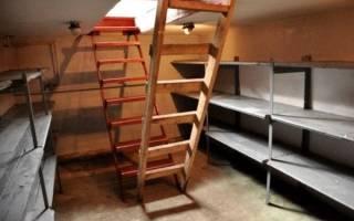 Как оборудовать подвал в гараже?