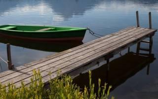 Как построить причал на реке?