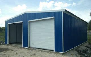 Как построить гараж из конструктора?