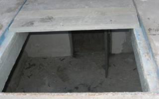 Как отделать подвал гаража чтобы был сухой?