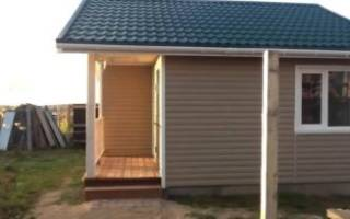 Как построить каркасно щитовой дом своими руками?