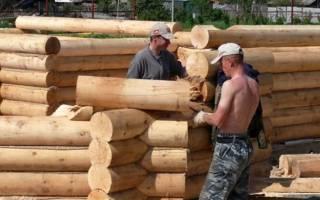 Как построить теплый деревянный дом?